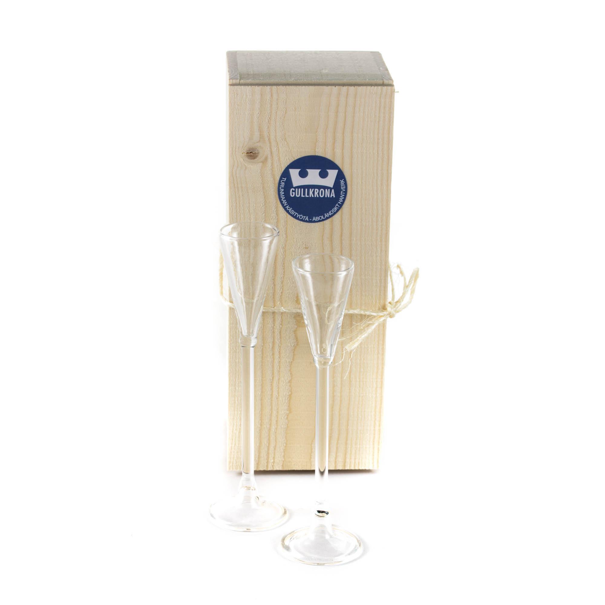 GK snapsglas 2st i låda